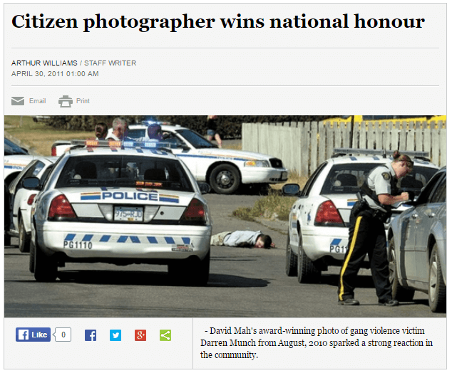 citizen photographer